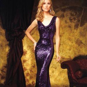2f502ed12b4 DAVID TUTERA Dresses - Celebrity David Tutera DT11611 Cowl Neckline Dress
